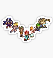 Chrono Trigger - The Team Sticker