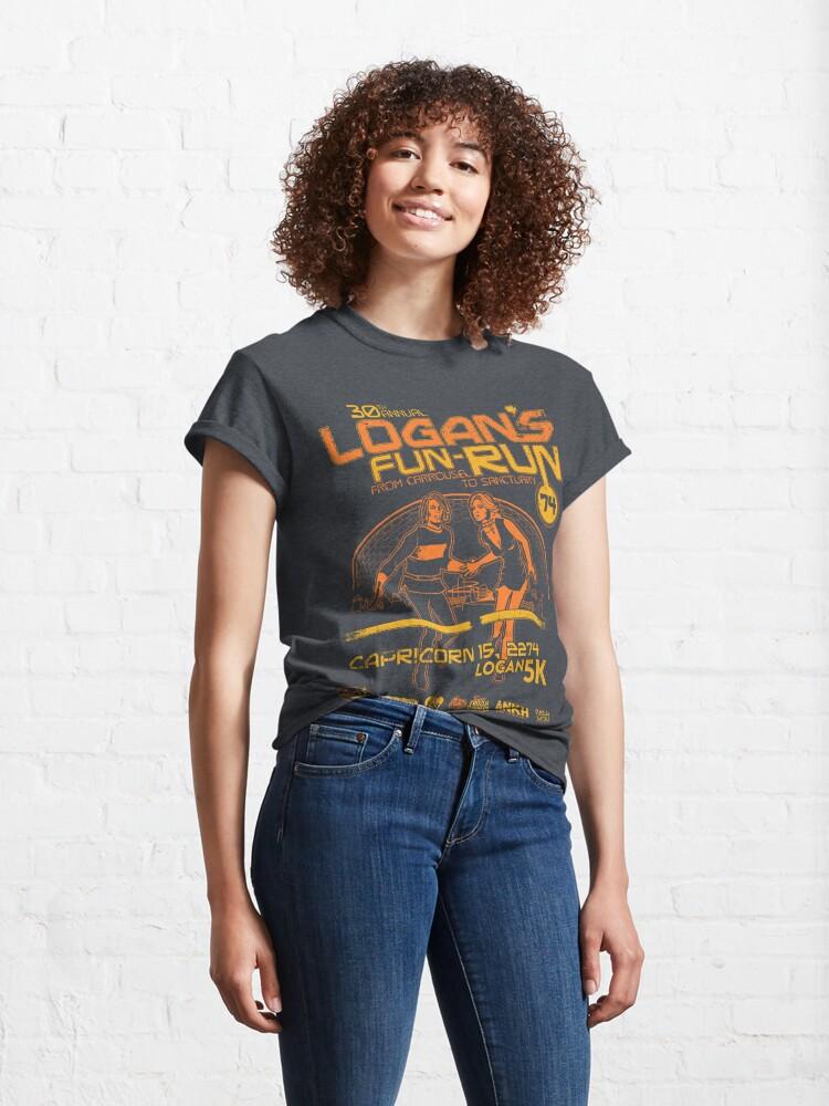 Alternate view of Logan's Fun-Run Classic T-Shirt