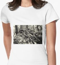 Back to Ones Roots............ Women's Fitted T-Shirt
