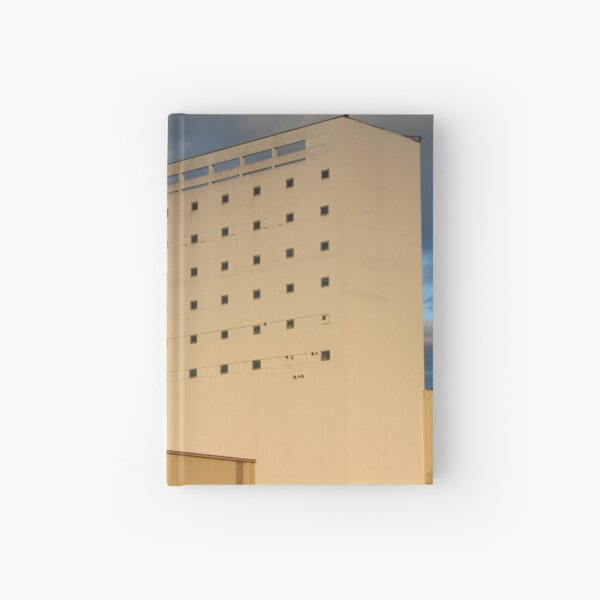 Alba ad Astra Plate 1 - flour mill or spacecraft factory? Hardcover Journal