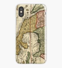 Vintage Map of Mexico (1708) iPhone Case