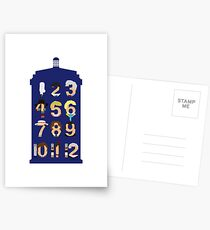 The Number Who Postcards