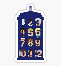 The Number Who Sticker