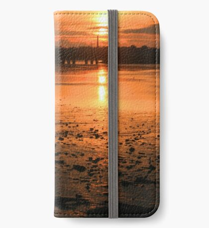 Amber Gold iPhone Wallet