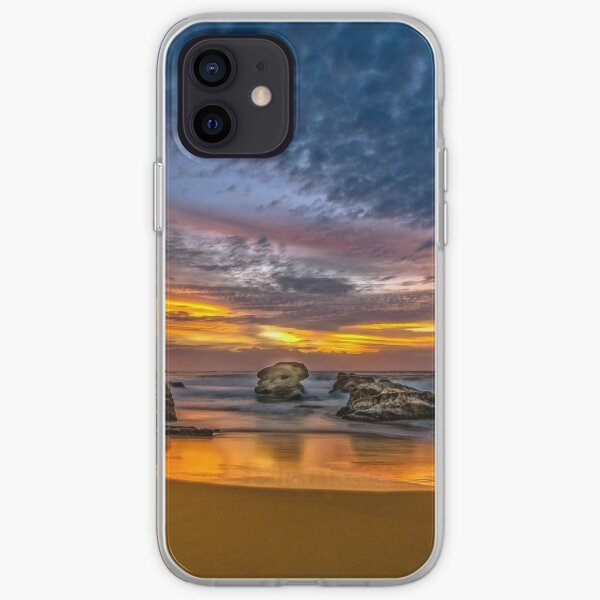 Sunrise with the Birds iPhone Soft Case