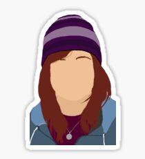 Ashley Until Dawn - Minimalism Sticker