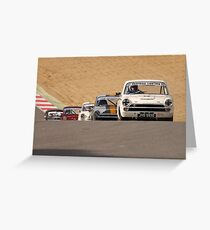 Classic Touring Cars Racing Club - Brands Hatch Greeting Card