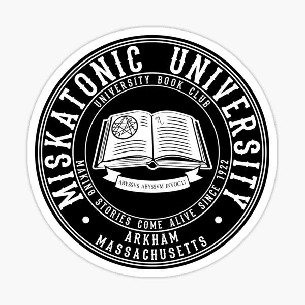 Miskatonic University Book Club Sticker