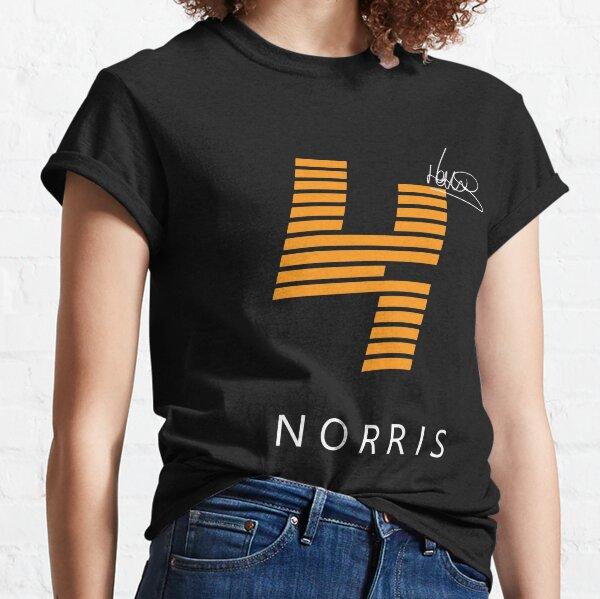 Conception de chemise F1 Lando Norris (noir) T-shirt classique