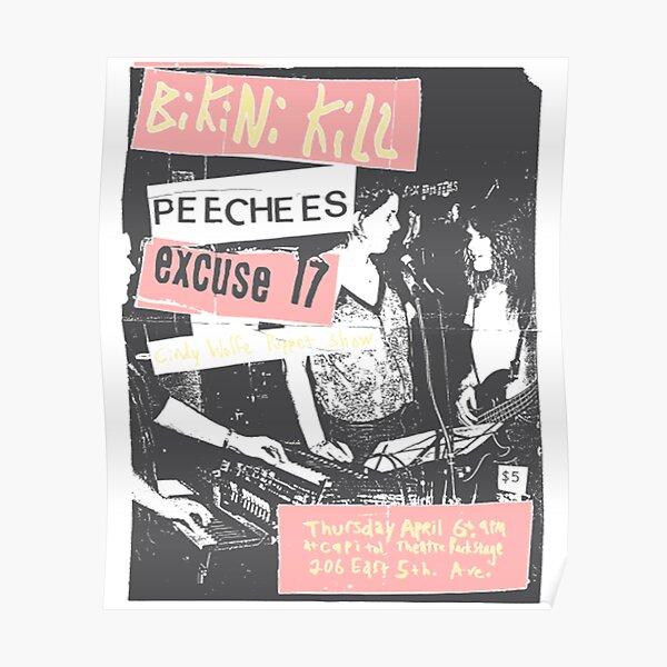 bikini kill peecees  Poster