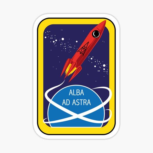 Alba ad Astra Mission Patch Sticker