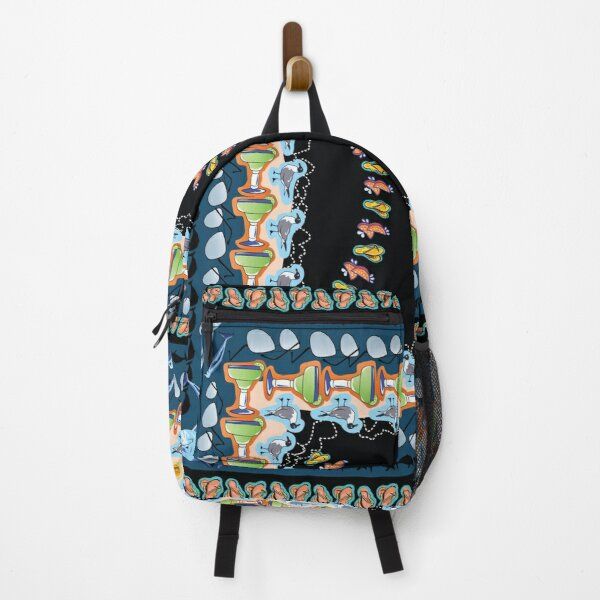 Beach Lover Layout - Florida Summer Icons Backpack