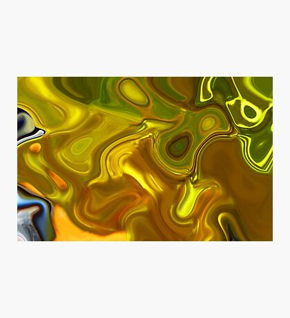 CHARTREUSE SERIES Abstract XII Photographic Print
