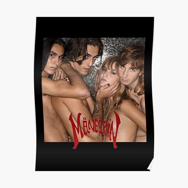 MANESKIN Måneskin Naked Merchandising Poster
