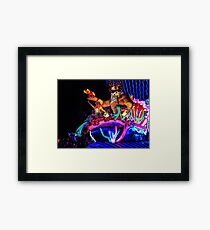Someday I'll be part of your world Framed Print