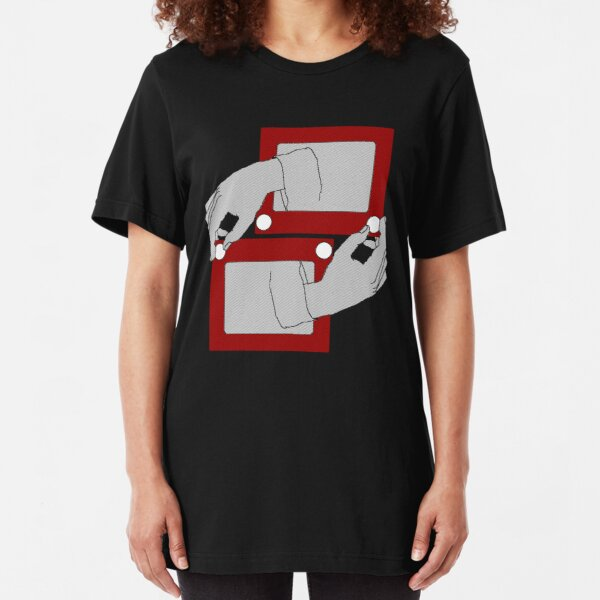 Escher Sketch Slim Fit T-Shirt