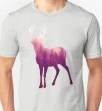 Deer of the Violet Forest Unisex T-Shirt