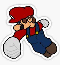 Mario F-Air Sticker