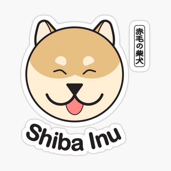 Smily Shiba inu Sticker