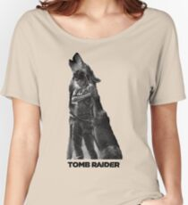 Tomb Raider - Lone Wolf Women's Relaxed Fit T-Shirt