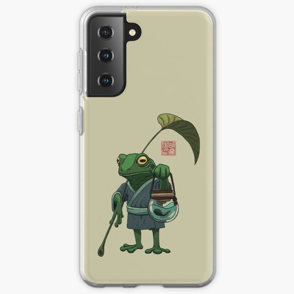 A Frog and His Son Samsung Galaxy Soft Case