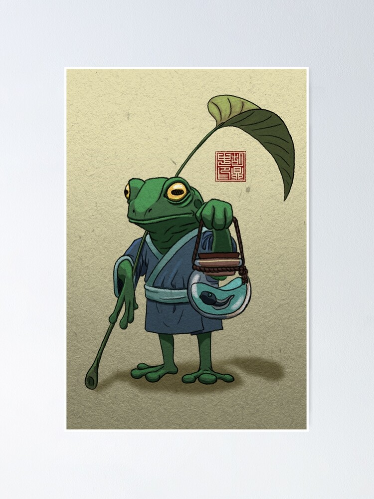 Alternate view of A Frog and His Son Poster