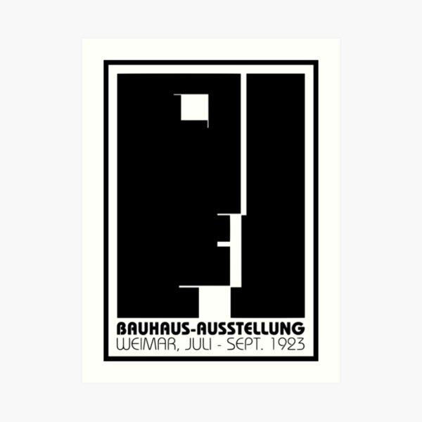 Bauhaus (Art School) -  Promotional Poster 1923 Art Print