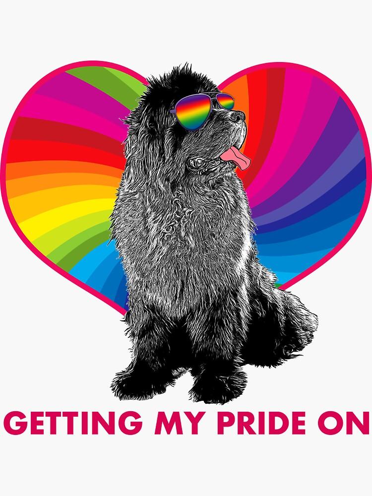 Rainbow Newf: Getting My Pride On by itsmechris