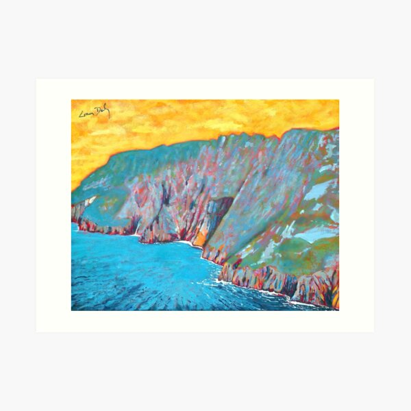 Slieve League (County Donegal, Ireland) Art Print