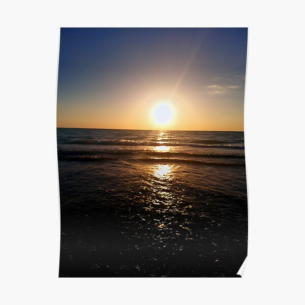 Pass-A-Grille Sunset Poster