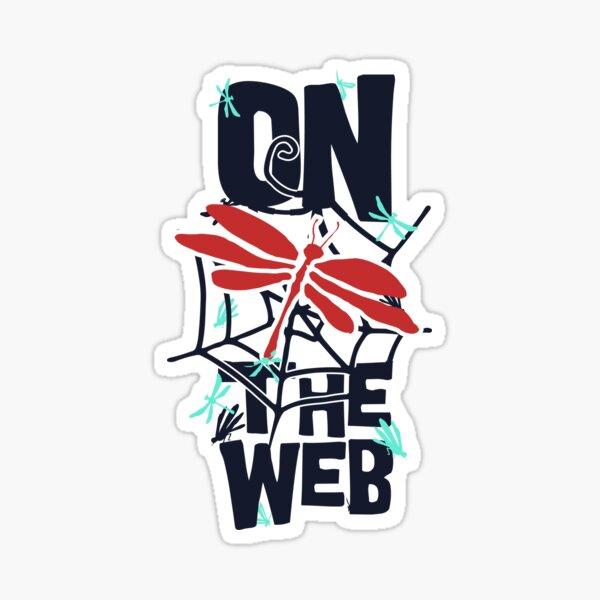 On the web Sticker