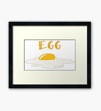 """""""EGG"""" Framed Print"""