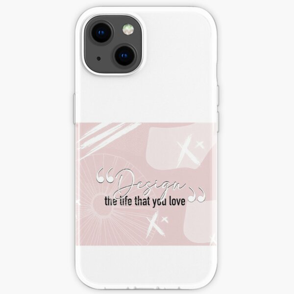 quote life modern stile iPhone Soft Case