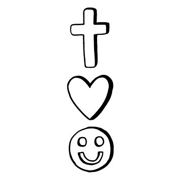 Christ, Love, and Joy by mimeomia