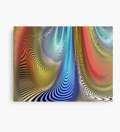 Moire Canvas Print