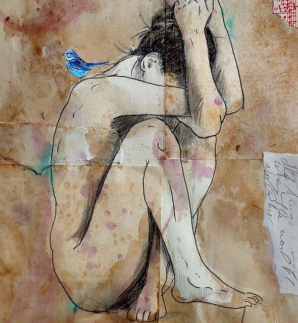 in deep by Loui  Jover