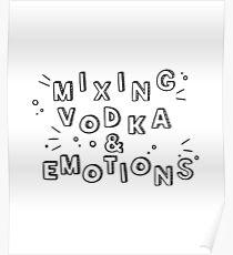 Drake - Mixing Vodka & Emotions Poster