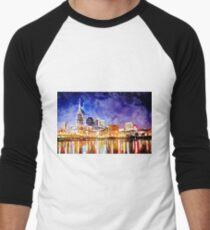 Nashville Nighttime Watercolor T-Shirt