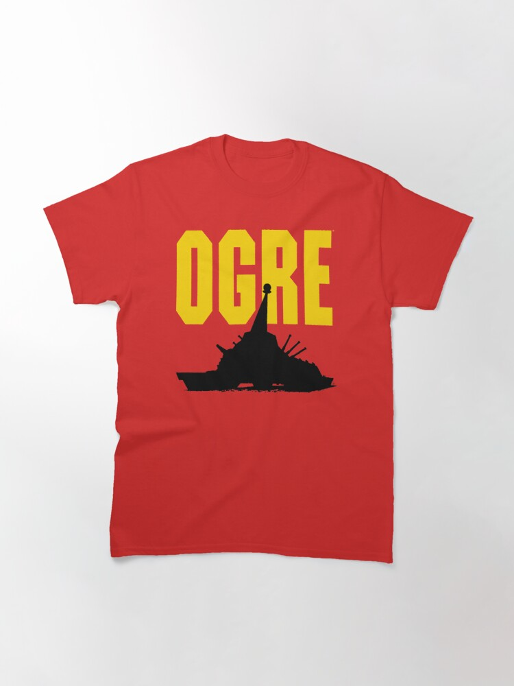 Alternate view of Classic OGRE Silhouette Classic T-Shirt