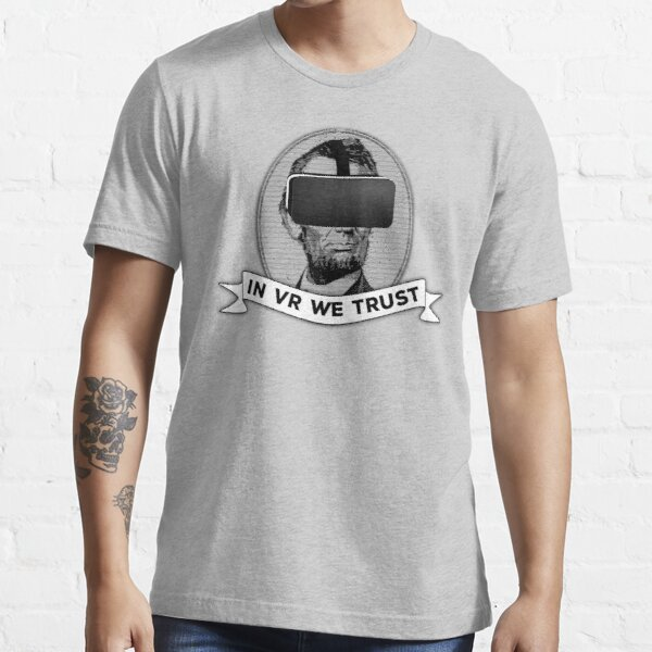 Funny Virtual Reality Player's Cool VR Parody (gray) Essential T-Shirt