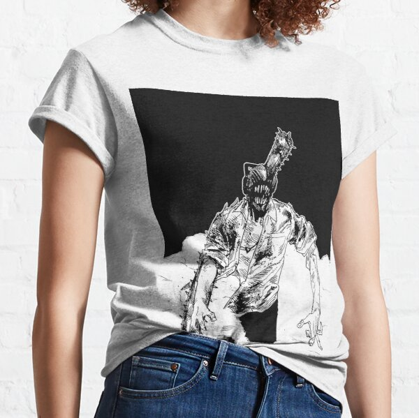 Bloody Chainsaw Man   Chainsaw Man Camiseta clásica