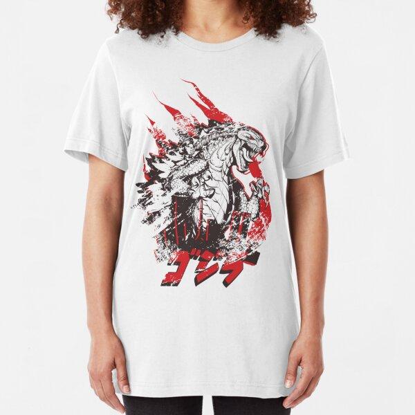 IT'S GODZILLA Slim Fit T-Shirt