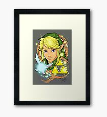 Legend Of Zelda Tattoo Framed Print