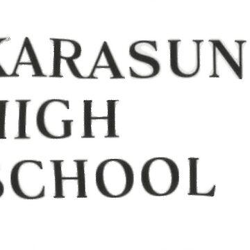 karasuno t-shirt by Rilene