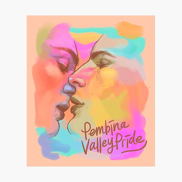 Inside & Out Decor - Pembina Valley Pride - By Ruby Rain Photographic Print