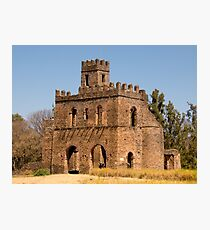 gondor castle in ethiopia Photographic Print
