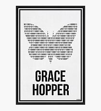 GRACE HOPPER - Women in Science Wall Art Photographic Print