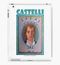 Juan José Castelli por Diego Manuel iPad Case/Skin