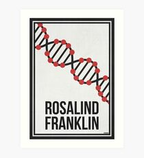ROSALIND FRANKLIN - Women in Science Wall Art Art Print