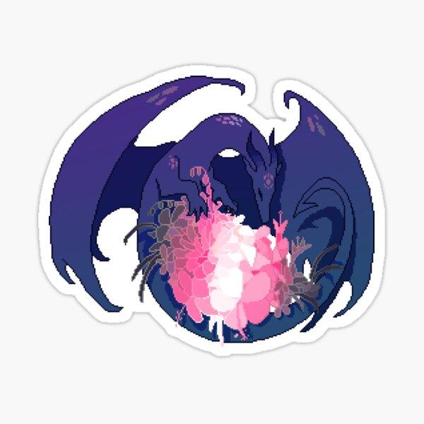 Demigirl Flag LGBT Pride Dragon (Requested) Sticker
